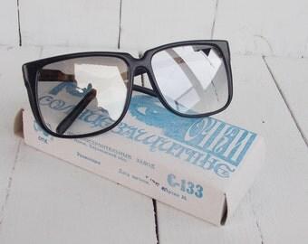 Retro sunglasses Made in USSR the 1980s Mens sunglasses Sunglasses For him Glasses USSR Old Eyewear Sunglasses