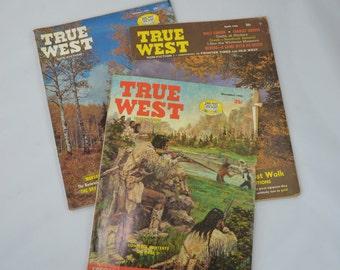 Vintage True West Magazines April 1966 October 1967 And December 1968