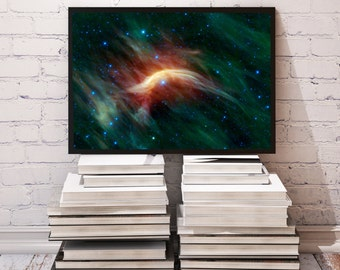 Zeta Ophiuchi poster Space decor Galaxy print