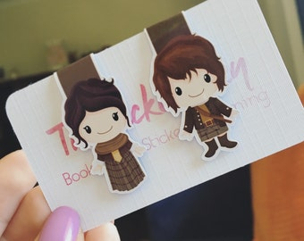 Time Traveller Magentic Bookmarks    Set of Two
