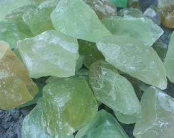Green Calcite/ Crystal/ Heart Chakra/ Green Crystal/ Stones and Minerals/ Unique Gift/ Gardening/ Home Decor/ Organic