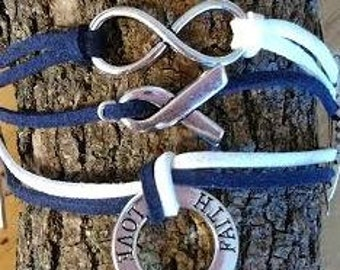 ALS- Lou Gehrig's Disease Bracelet