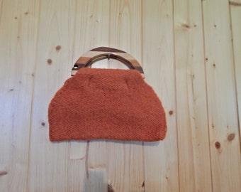 Handmade Felted Wool Bag