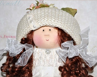 Little Souls Doll, Little Souls Original, Gretchen Wilson, Dolly Mama, 24 Inch Cloth Doll, Little Souls Alexis, Vintage Doll, OOAK Doll