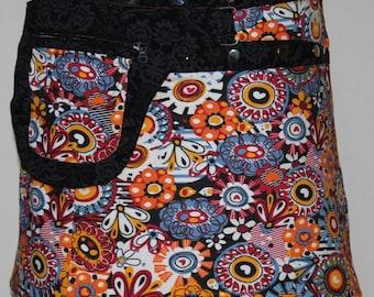 Gugi Reversible Hosiery Classic Wrap Skirt