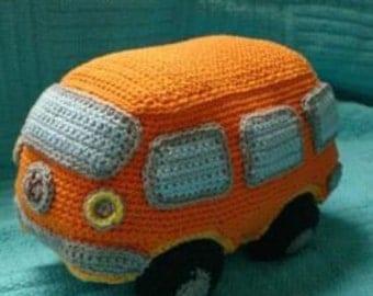 crochet amigurumi VW Volkswagen bus