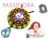 Passiflora pendant - instant dowload for the pdf instructions for a top-notch beadwork project!