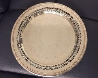 Vintage Silverplate Platter