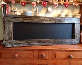 Distressed chalkboard vintage chunky chalkboard cream distressed frame blackboard rustic frame