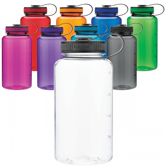 H2go 34 Oz Wide Mouth Tritan Water Bottle By