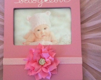 Pink Baby Picture Frame