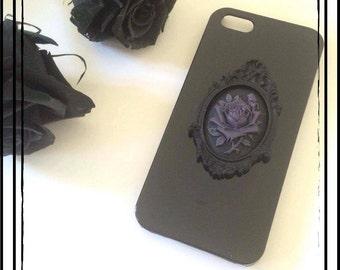 "Hull black Iphone ""Pastel Goth"""