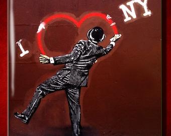 I Love New York - Ceramic Tile
