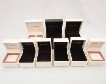 9 Empty Pandora Jewellery Boxes