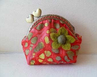 Handmade Fabric Purse