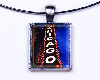 Chicago Theater Photo Necklace