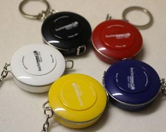 New Hoechstmass 150cm pocket roller measuring tape w keychain. Made in Germany. 5 Colours. Tape Measure w fine quality. Australian Seller.