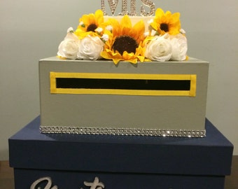 Sunflower card box