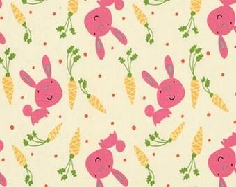 Garden Bunny  David Walker Free Spirit Cotton Quilt  Fabrics   Veggies    Bfab