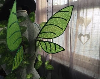 Green Training Fairy Wings with Green Detailing