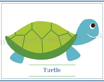 Turtle Little Ones Poster