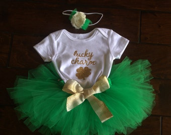 St. Patrick's Day Tutu Outfit