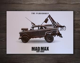 Mad Max Screen Print
