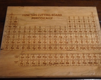 Cutting Board Periodic Table Cutting Board