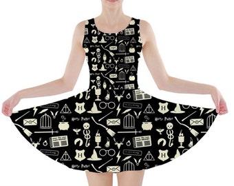 Scattered Magic Skater Dress