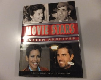 Movie Stars Unseen Archives Actors Actresses Hardcover Photograph Book