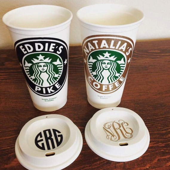 starbucks personalized tumbler template - starbucks personalized coffee cup reusable by sscbowtique