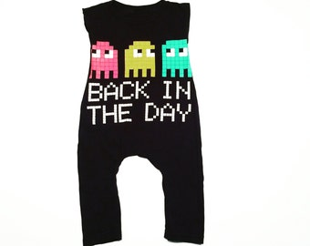 Back in the day tshirt romper / see description for details