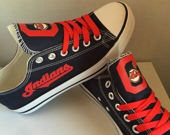 Cleveland Indians tennis shoes