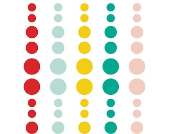 Simple Stories Life in Color Enamel Dots