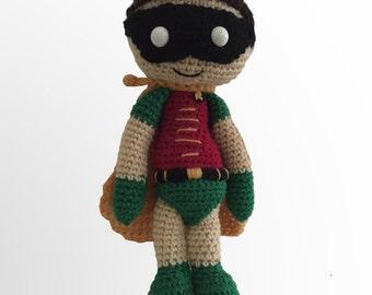 Veros Batmans Robin Crochet Pattern