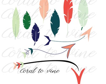 feather and arrow SVG feather SVG  arrow svg tribal svg arrow svg boho arrow svg arrow name feather name svg organic feather svg boho art