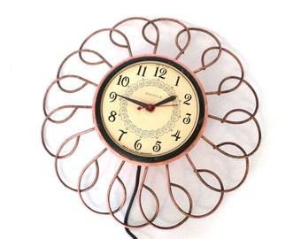 Retro Pink Clock