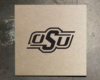 Oklahoma State Cowboys Stencil