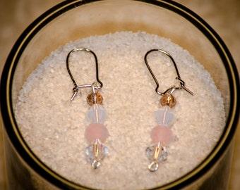 Cotton Candy - Dangle Earrings