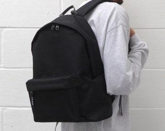 Minimalist Backpack Black