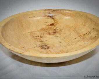 Large Maple Burl Bowl