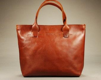 Redoker Genuine Leather Cohort Tote Bag