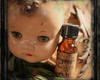 CAKES AND ALE (Vanilla Cake, Buttered Rum, Woods, Leather, Amber, Coffee, Ale) Hand Blended Artisan Oil -Perfume, Anointing Oil