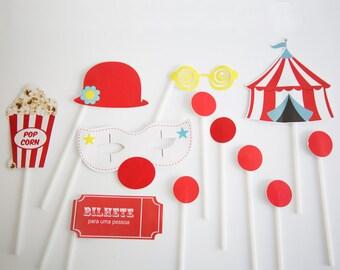 Circus Party Photobooth, Circus Party Decor, Circus Decorations, Circus Birthday Party Decor, Circus Photobooth, Circus Birthday Photobooth.
