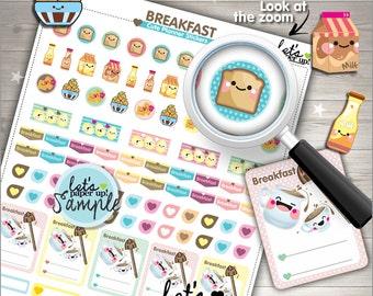 60%OFF - Breakfast Stickers, Printable Planner Stickers, Planner Stickers, Kawaii Stickers, Food Stickers, Planner Accessories, DIY