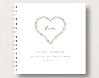 Personalised Bridesmaid's Book or Album