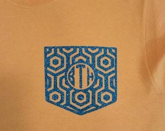 Monogram pocket shirt