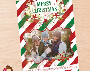 Christmas, Christmas photo card, Christmas family card, Christmas card, Christmas family photo card, Christmas digital card, Christmas DIY.