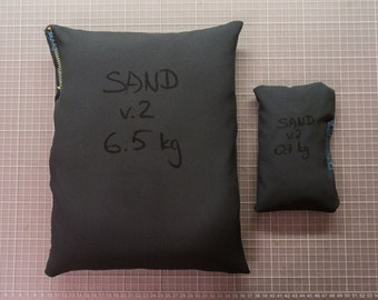 Soft Weight with Sand - Medium - 2,8 kg (6 lbs) for Bookbinding and Crafts