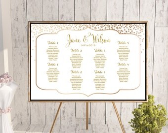 Find your Seat Chart, Printable Wedding Seating Chart, Wedding Seating Poster, Wedding Seating Sign, Wedding Seating Board wd93 WC111